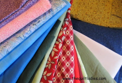 Quilt Pattern Block of the Month Fabric's