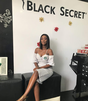 Regina Van-Helvet Is Brand Ambassador For Black Secret Make-up