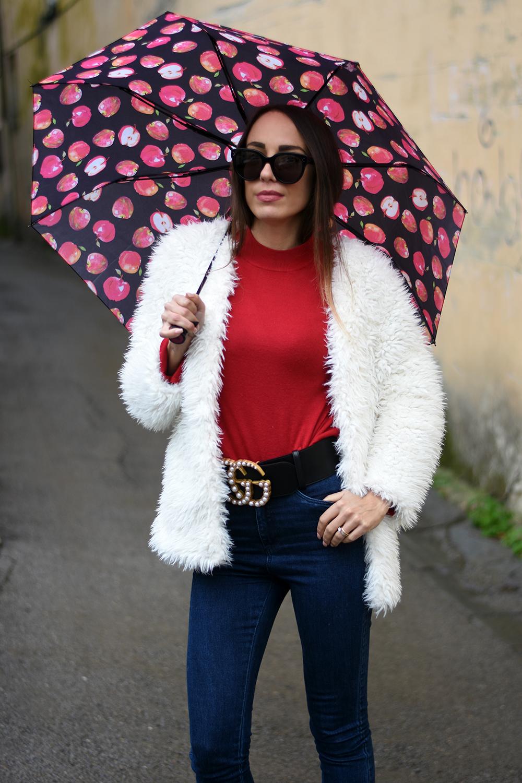 ombrello colorato