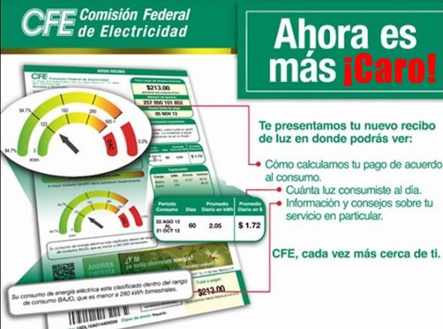 CFE, empresas