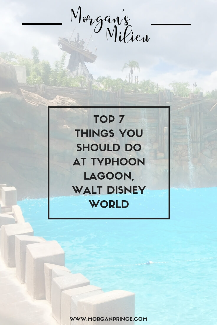 Top 7 Things You Should Do At Typhoon Lagoon, Walt Disney World | Heading to Typhoon Lagoon this summer? Here's the top 7 things you should do.