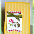 Kelly Rose, Independent Stampin' Up! Demonstrator: Oh Hello for CCMC253