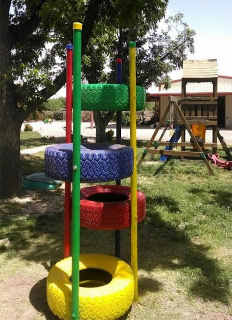 co można zrobić w ogrodzie do zabawy