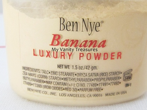 Ben Nye Banana Powder Review