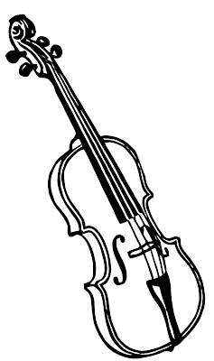Ephemeraphilia: Free Vector Art: Violin