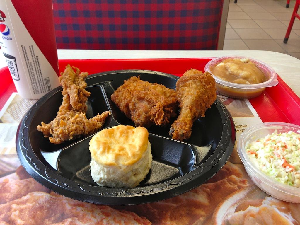 Kentucky Fried Chicken Meal: Kentucky Fried Chicken Food Review