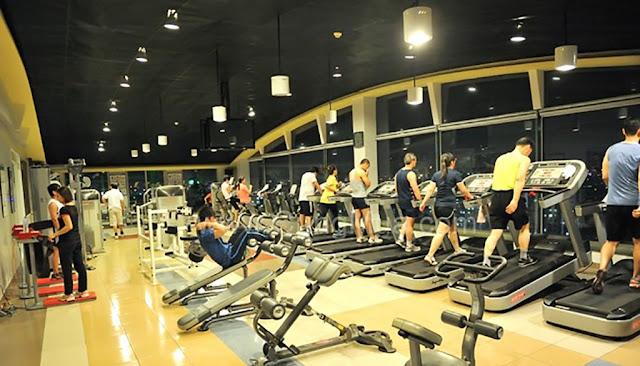 Phòng tập Gym hiện đại tại Xuân Mai Sparks Tower