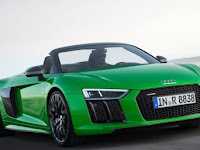 Audi R8 V10 Plus Spyder: Tony Stark Approved!
