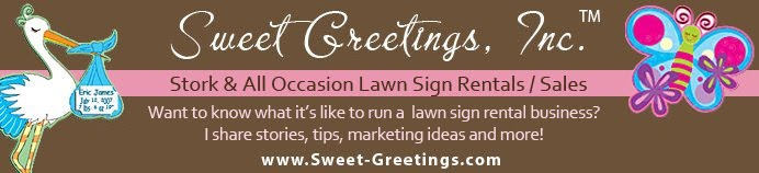 Sweet Greetings: Start Your Own Stork & All Occasion Sign Rental Business!