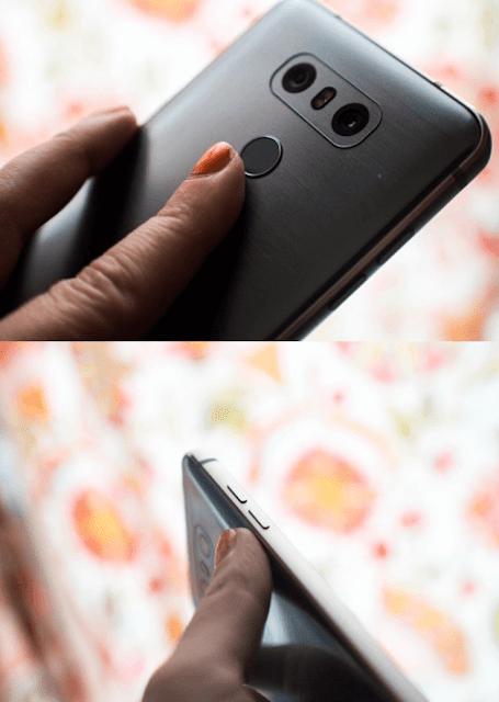 Cara Mengambil Screenshot Pada LG G6