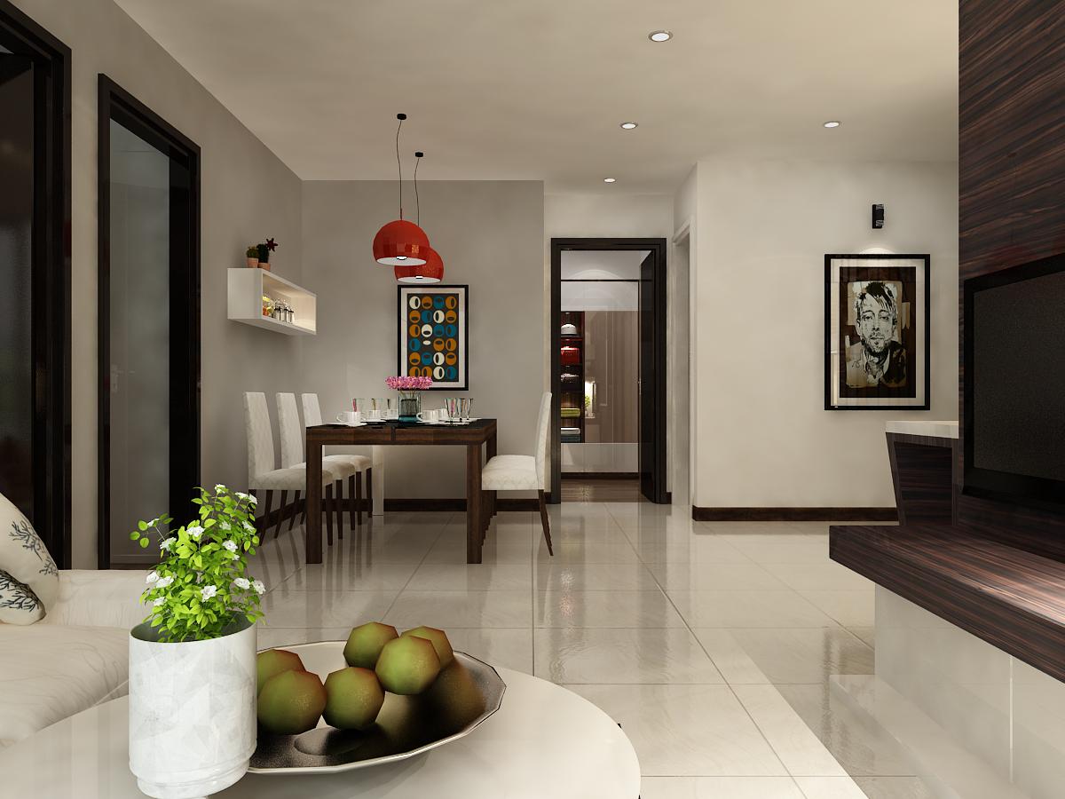 phòng khách căn hộ C1-8 - xigrandcourt