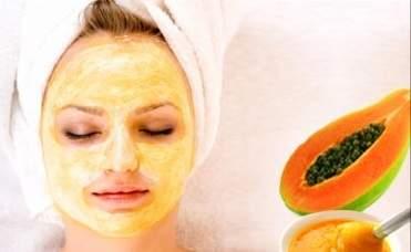 papaya for skin glowing
