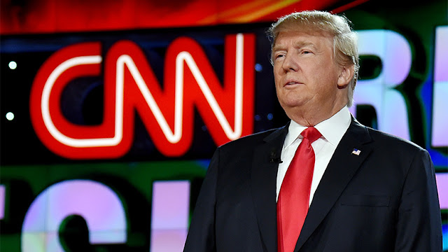 CNN está tomando uma abordagem cada vez mais negativa em relação ao presidente Trump
