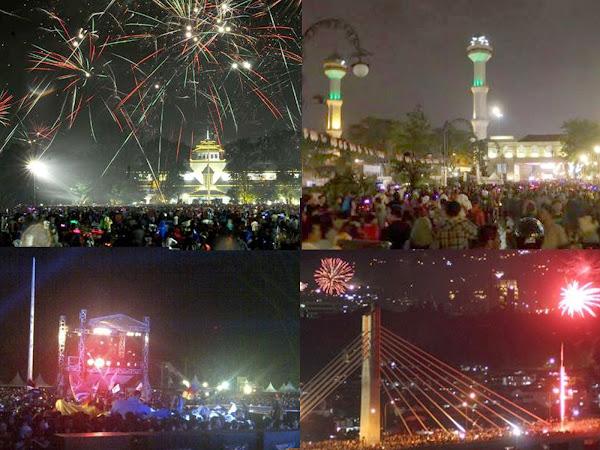 Lokasi-Lokasi malam perayaan tahun baru 2017 di Bandung