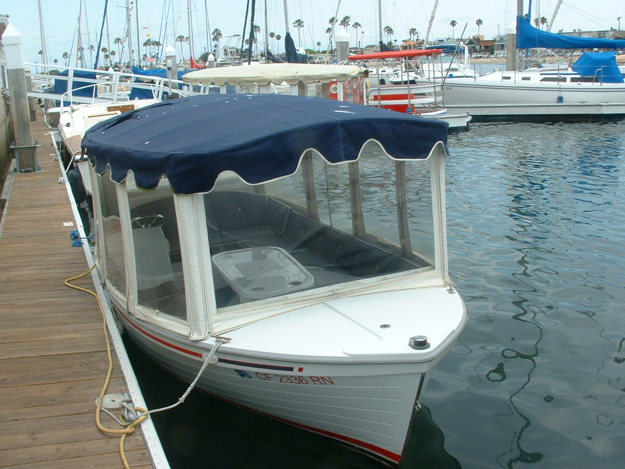 Used Duffy Electric Boats (714) 931-6710 or boseyachts@mac