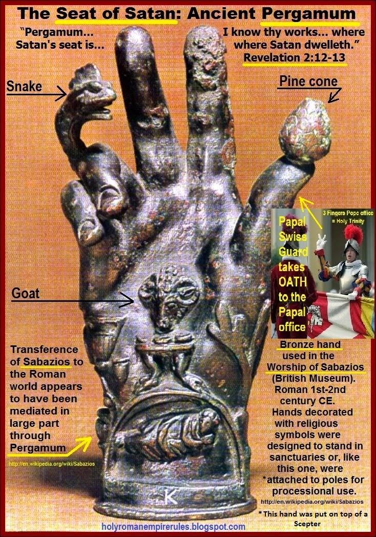 Brain Dead Zombies Obama S Throne Of Satan Pergamon