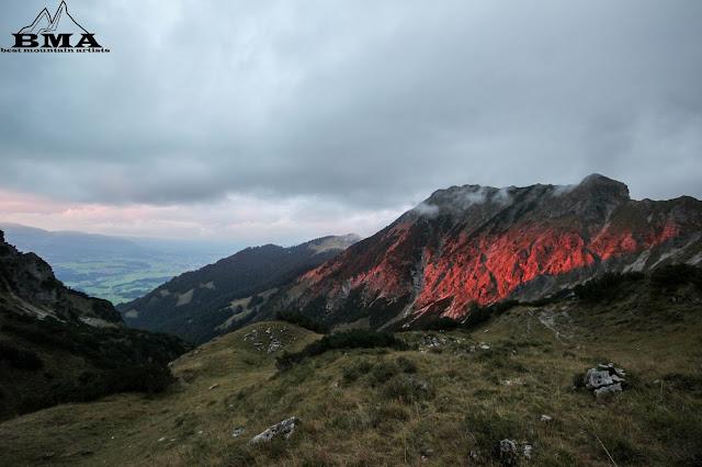 wandern Bayern Gaisalpsee Rubihorn Reichenbach Sonthofen Heimplanet the Wedge Zelt