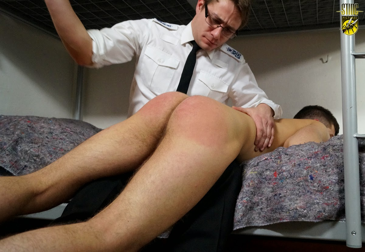 Video Spank Cane Barer Bottom Boy