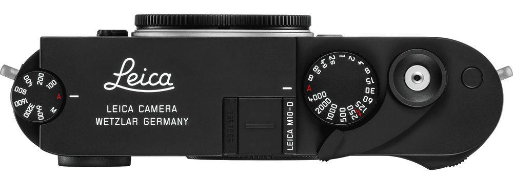 Leica M10-D, вид сверху