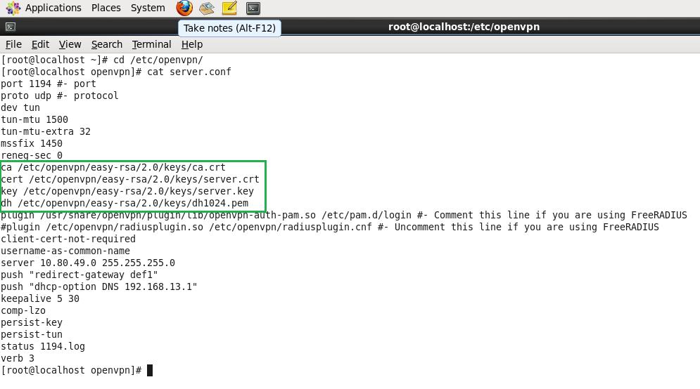 OpenVPN Configuration CentOS - XP ( Server - Client ) - Hack The Knox