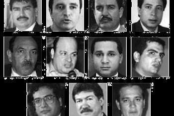 Resultado de imagen para Fotos de 11 de los 12 diputados asesinados