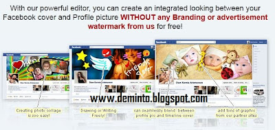 Facebook Cover and Profile Picture Maker