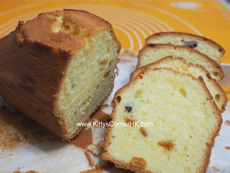 Pound Cake with Peels DIY recipe 皮香鮮油 自家烘焙食譜