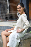 Radhika Cute Young New Actress in White Long Transparent Kurta ~  Exclusive Celebrities Galleries 020.JPG