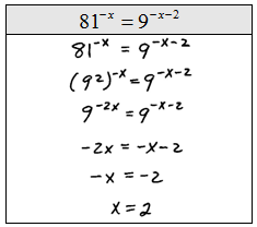 Openalgebra Solving Exponential Equations