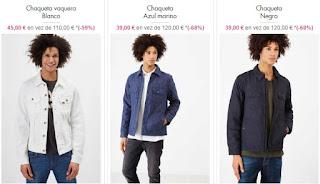 chaquetas para hombre marca Lee