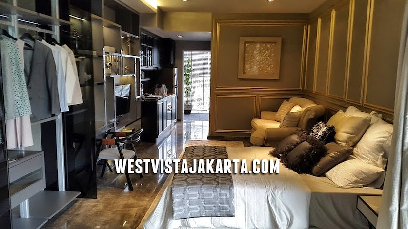 foto show unit apartemen west vista keppel land