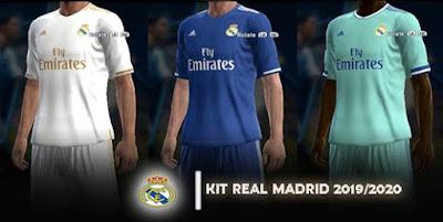 2fad5b1c1 Real Madrid Kit Season 2019 2020 beta ~ PES Revolusion