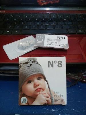 Review Pemakaian Softlens N8 Ice Grey