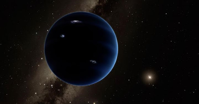 Artist's conception of Planet Nine. Caltech/R. Hurt (IPAC)