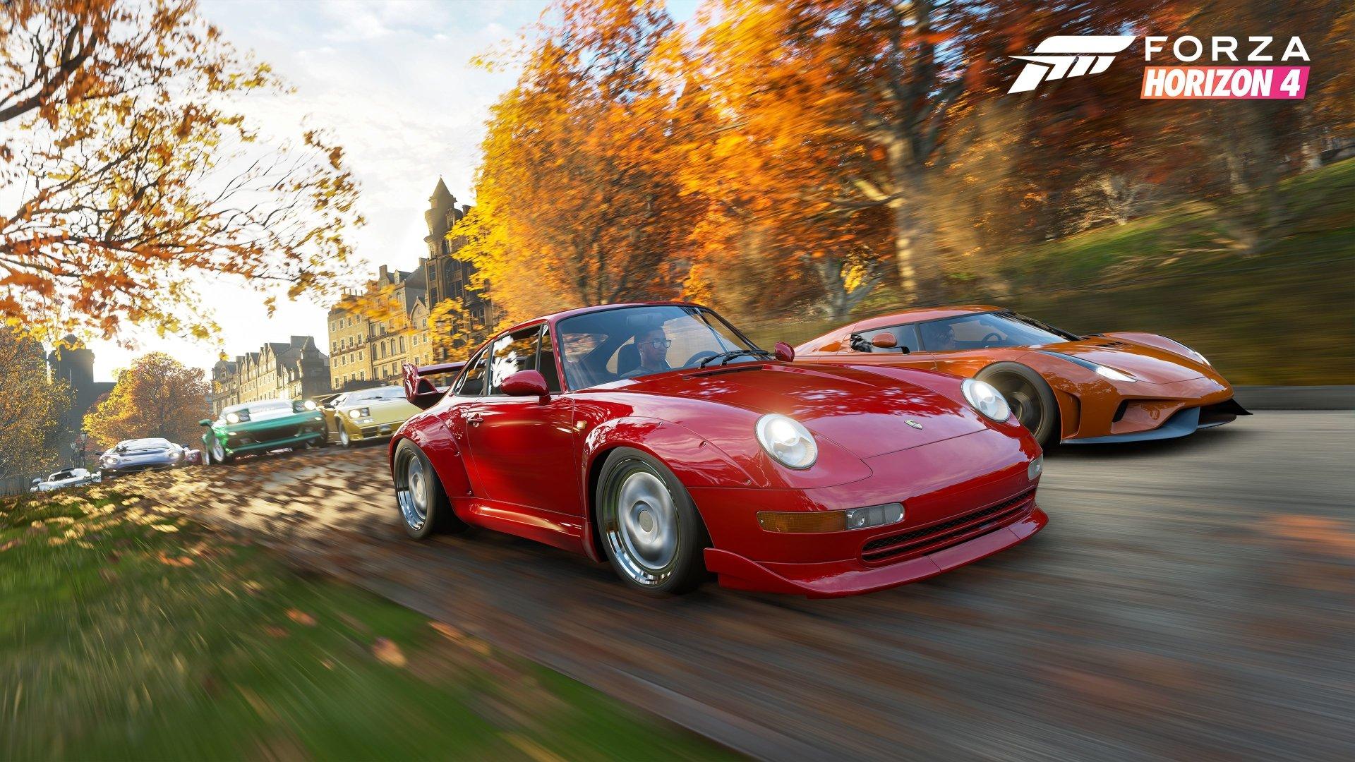 Forza Horizon 4 Wallpaper: Download Forza Horizon 4 HD Wallpapers
