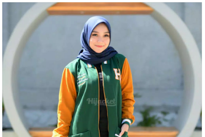 [XL - M Fit L] HJ-QD ALPINE GOLD QADIRA HIJACKET Warna Green Gold