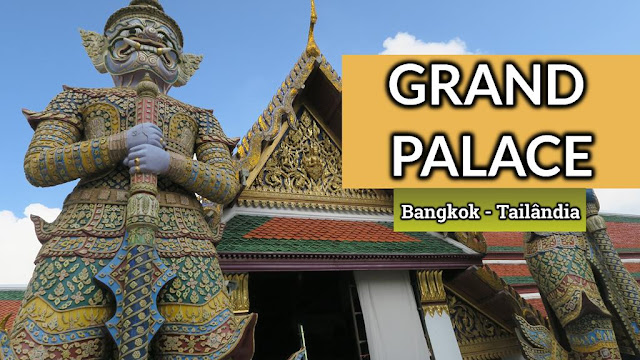Complexo do Grand Palace ou Palácio Real de Bangkok