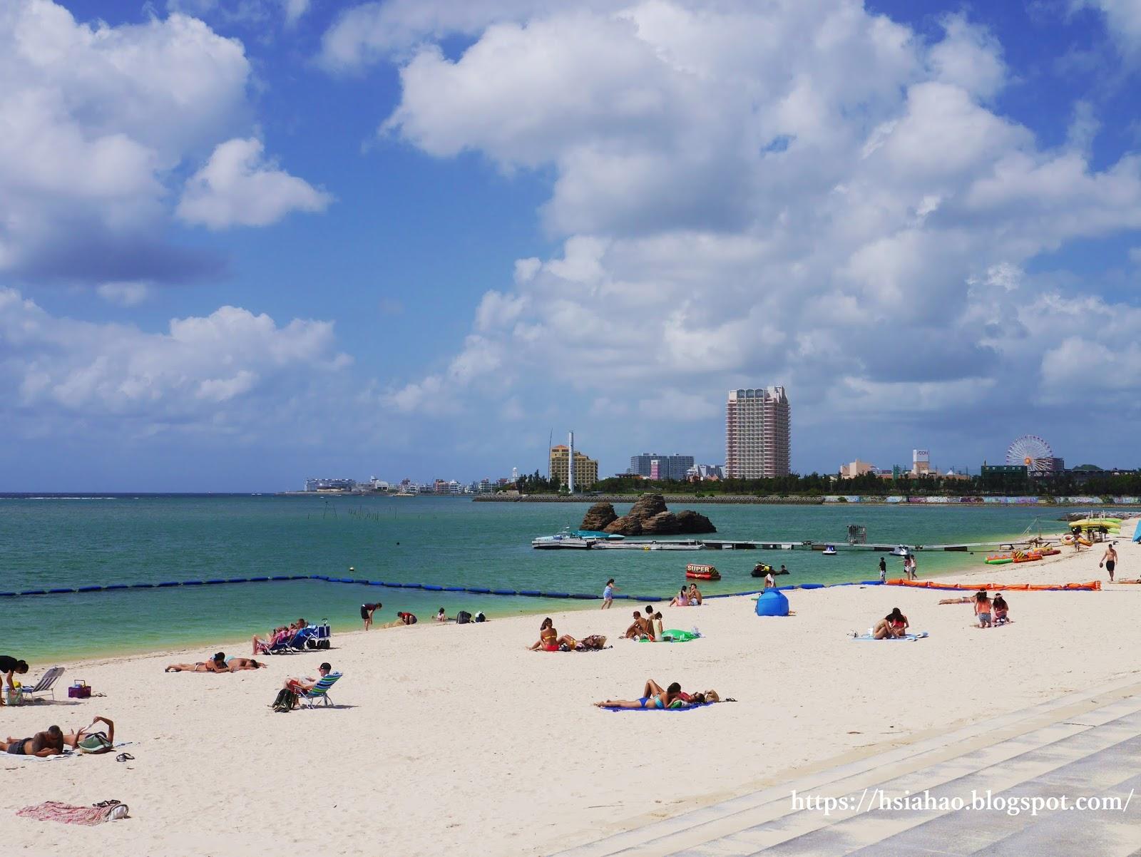 沖繩-美國村景點-推薦-安良波公園-Araha-Park-海灘-Beach-自由行-旅遊-Okinawa