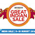 Amazon.in Great Indian Sale 8-10 August [Offers List] + 10% Cashback on SBI Cards