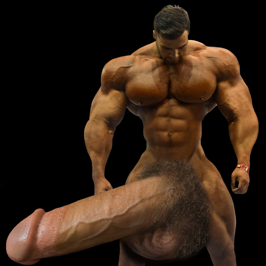 Gigantic Huge Meat Super Heavyweight Mega Bodybuilder Demetrius