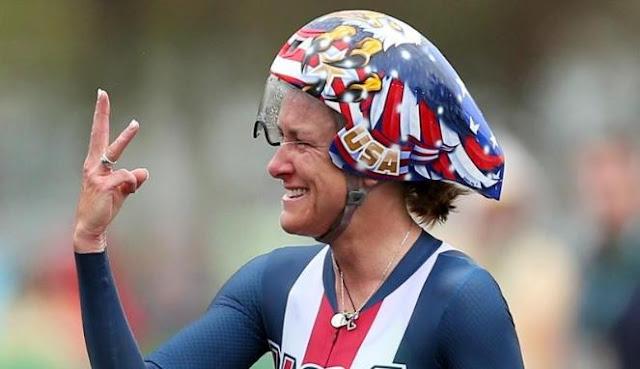 Atlet AS Raih Emas Olimpiade di Usia 42 Tahun