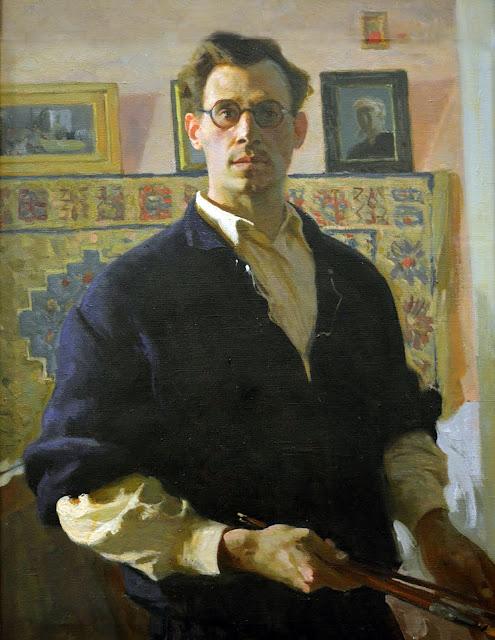Vladímir Zajarkin, Self Portrait, Portraits of Painters, Fine arts, Portraits of painters blog, Paintings of Vladímir Zajarkin, Painter Vladímir Zajarkin