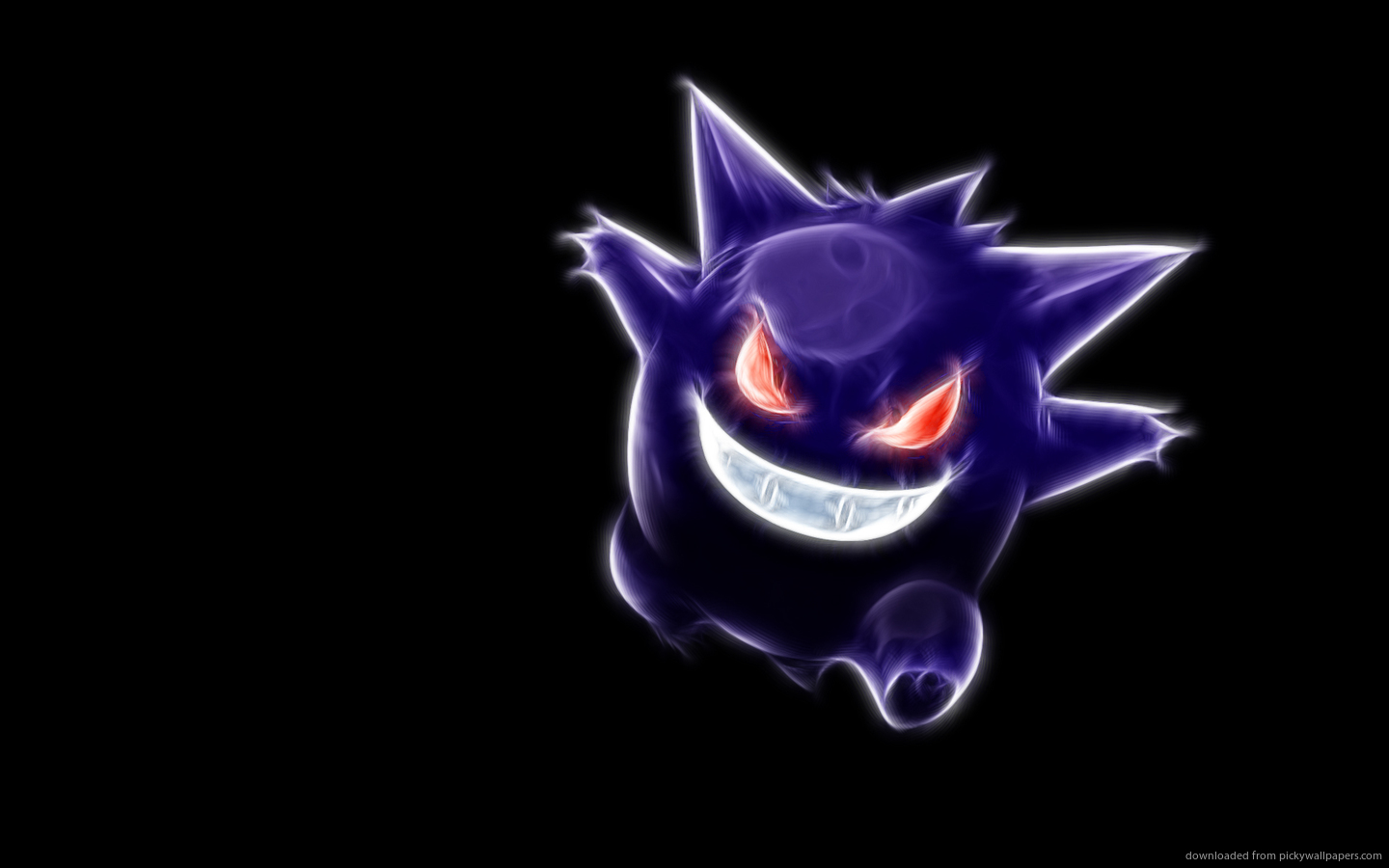 Neon Wallpapers for Android - Neon Gengar Wallpaper