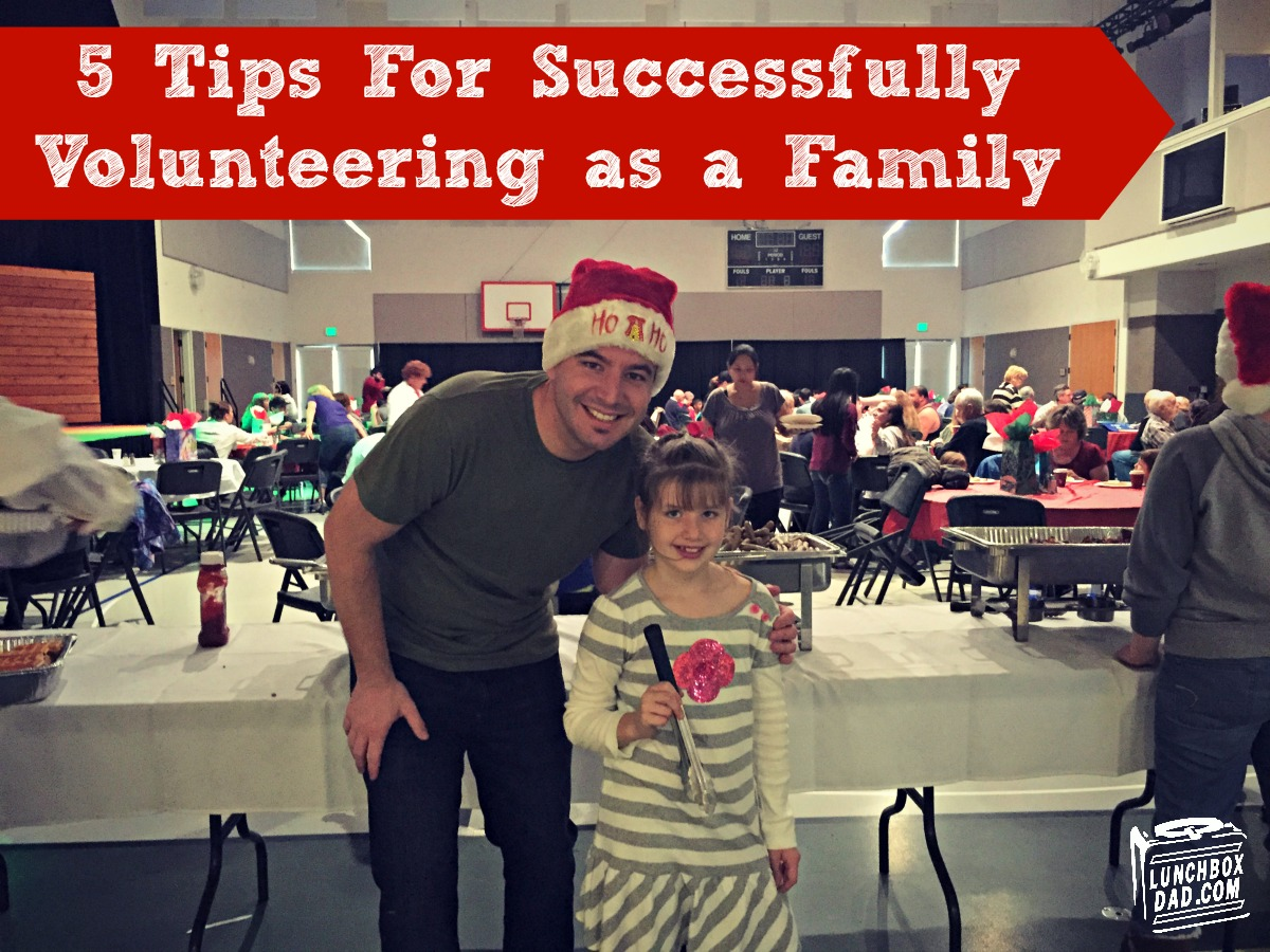 5 Tips to For Volunteering as a Family