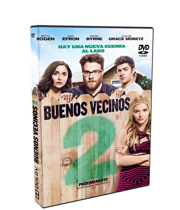Buenos Vecinos 2 poster box cover