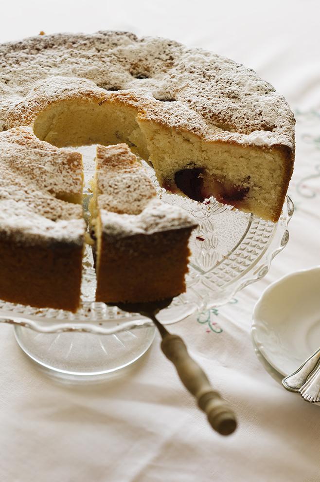 Ciasto ze śliwkami z prodiża