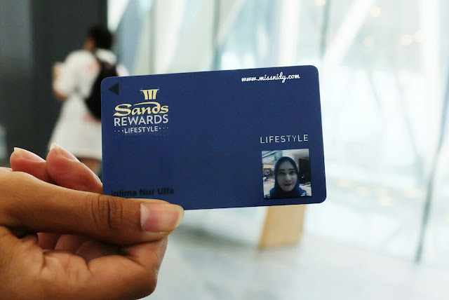 cara membuat member card marina bay sands