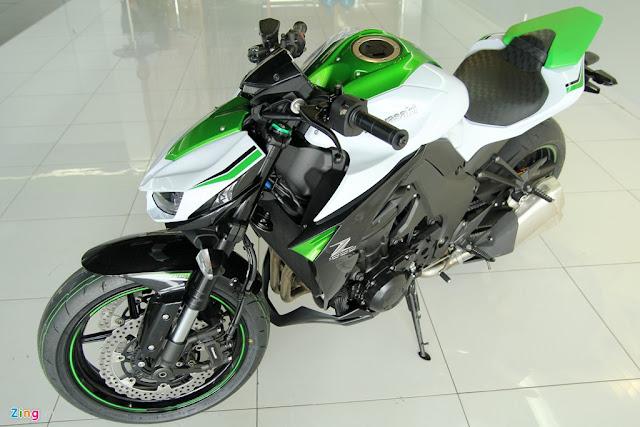 Hình ảnh và giá bán mới nhất của xe mô tô kawasaki Z1000 năm 2016