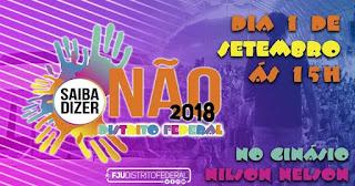 Saiba Dizer Não 2018