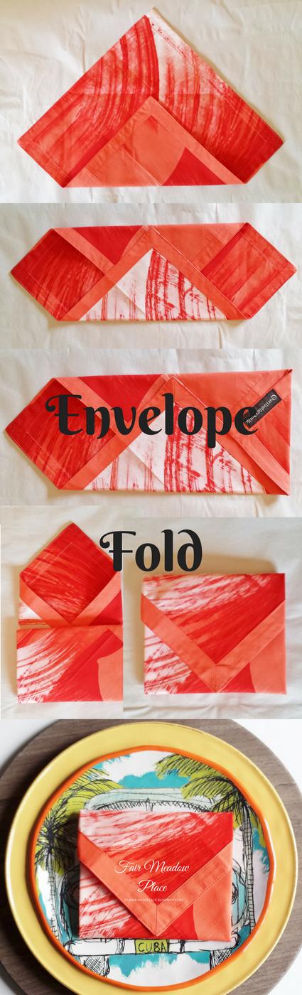 Envelope Fold Napkin